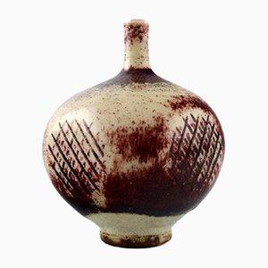 Vaso Mid-Century in ceramica di Berndt Friberg