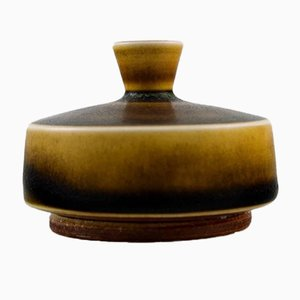 Swedish Ceramic Vase by Berndt Friberg, 1960s