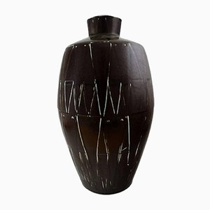 Danish Ceramic Floor Vase by Axel Brüel, 1960s