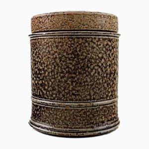 Danish Glazed Stoneware Lidded Jar by Nils Kähler for Kähler, 1960s
