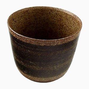 Dänische Keramikvase von Palshus, 1940er