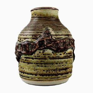 Vase en Grès par Jorgen Mogensen pour Royal Copenhagen, 1970s