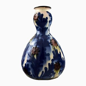 Glazed Stoneware Vase from Kahler, 1930s