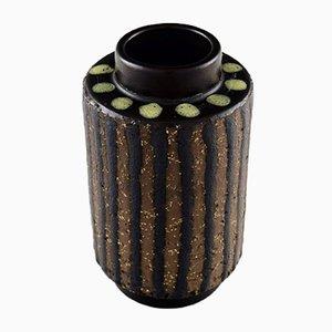 Vintage Ceramic Ringo Vase by Mari Simmulson for Upsala-Ekeby