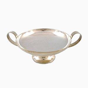 Große Vintage Schale aus Silber von Christofle