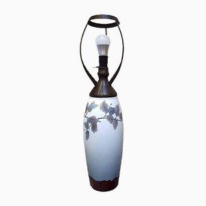 Jugendstil Tischlampe von Harald Bing für Bing & Grondahl