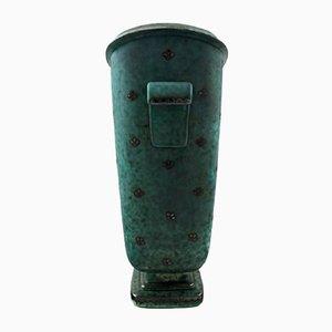 Grand Vase Art Déco par Wilhelm Kåge de Gustavsberg, 1930s