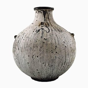 Glasierte Vase von Svend Hammershoi für Kähler, 1930er