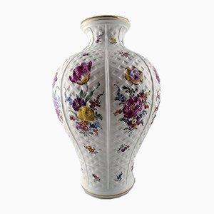 Large Austrian Porcelain Vase, 1910s