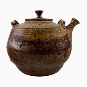 Stoneware Teapot by Jean Linard, 1960s
