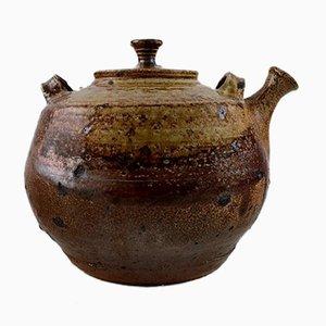 Teekanne aus Steingut von Jean Linard, 1960er