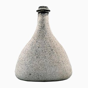 Danish Glazed Bottle-Shaped Vase by Svend Hammershøi for Kähler, 1930s