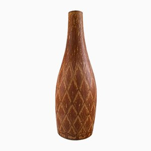 Large Vintage Stoneware Vase by Gunnar Nylund for Rörstrand, 1950s