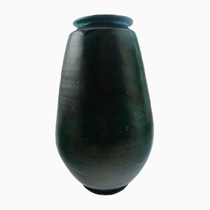 Large Glazed Stoneware Vase by Svend Hammershøi for Kähler, 1930s