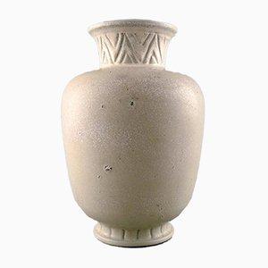 Vaso vintage in gres di Gunnar Nylund per Rörstrand