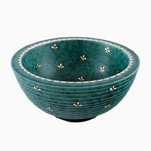 Art Deco Argenta Bowl by Wilhelm Kåge for Gustavsberg