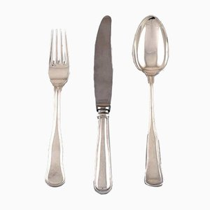 Vintage Danish Silver Cutlery Set from Cohr