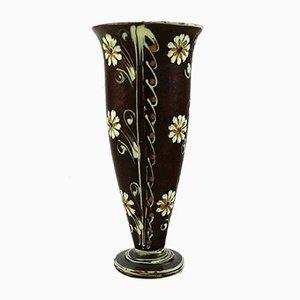 Glazed Stoneware Vase from Kähler, 1930s