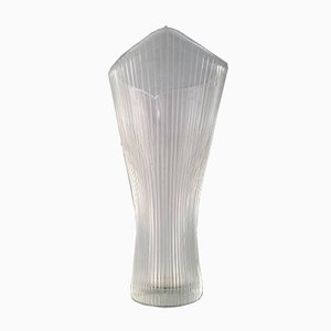 Glass Vase by Tapio Wirkkala for Iittala, 1950s