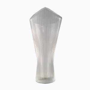 Vaso in vetro di Tapio Wirkkala per Iittala, anni '50