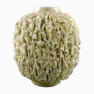 Vintage Chamotte Vasen von Gunnar Nylund für Rörstrand, 2er Set