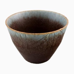 Vintage Stoneware Bowl by Carl-Harry Stålhane for Rörstrand