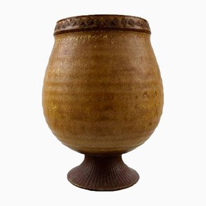 Vaso vintage in ceramica di Gunnar Nylund per Rörstrand