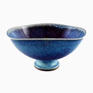 Large Vintage Swedish Ceramic Bowl by Berndt Friberg