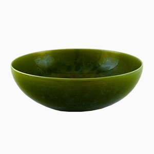 Large Vintage Stoneware Bowl by Carl-Harry Stålhane for Rörstrand