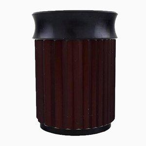 Pot Vintage en Métal avec Couvercle de Skultuna
