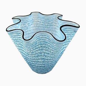 Vaso vintage in vetro artistico di Ulrica H. Vallien per Kosta Boda, Svezia