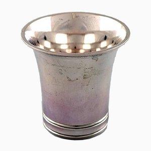 Art Deco Silver Beaker from Grann and Laglye, 1950s