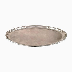 Large Vintage Danish Silver Tray