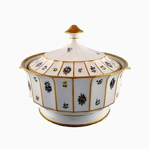 Handbemalte Vintage Terrinen aus Porzellan von Royal Copenhagen, 2er Set