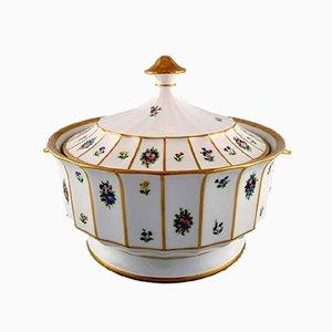 Récipients Vintage en Porcelaine Peints à la Main de Royal Copenhagen, Set de 2