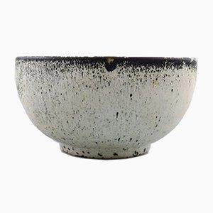 Vintage Glazed Stoneware Bowl by Svend Hammershøi for Kähler / HAK