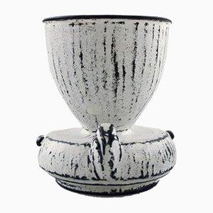 Art Deco Danish Stoneware Vase by Svend Hammershøi for Kähler, 1930s