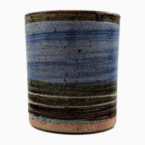 Mid-Century Danish Stoneware Vase by Helle Allpass, 1960s