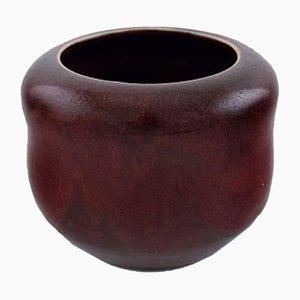 Vase en Grès par Patrick Nordstrøm & Carl Halier pour Royal Copenhagen, Danemark, 1920s