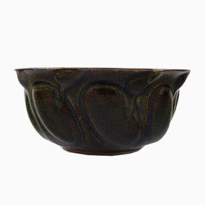 Organic Stoneware Bowl by Axel Salto for Royal Copenhagen, 1950s