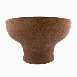 Scandinavian Modern Stoneware Vase by Helle Alpass, 1968