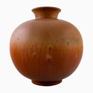 Mid-Century Scandinavian Modern Stoneware Vase from Rorstrand