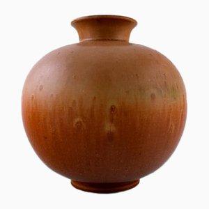 Vase Mid-Century Scandinave en Grès de Rorstrand