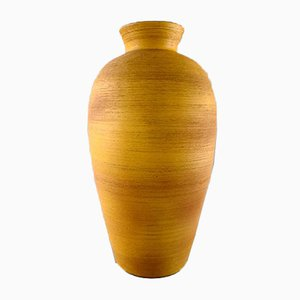 Vintage Swedish Ceramic Floor Vase by Anna-Lisa Thomson for Upsala-Ekeby