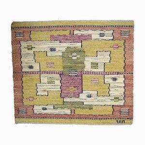 Handgewebter Vintage Teppich von Marta Maas-Fjetterström