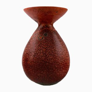 Mid-Century French Ceramic Vase from Accolay, 1950s