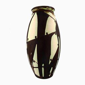 Mid-Century Danish Stoneware Vase from Kähler, 1940s