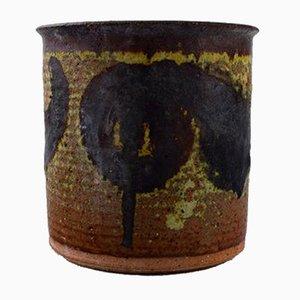 Vaso vintage in ceramica di Gunver Bilde Sørensen, Danimarca