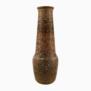 Large Vintage Stoneware Vase by Gunnar Nylund for Rörstrand