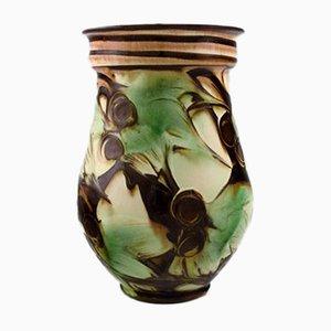 Vase Art Déco Vintage en Grès de Kähler, Danemark, 1930s